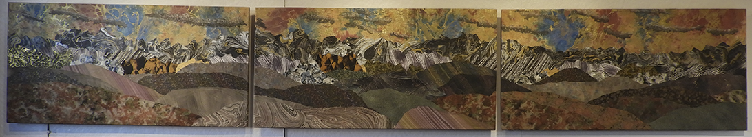 'Rocky Mountain Majesty' 12 feet wide, 2018, SOLD
